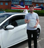 lewis passing his driving test