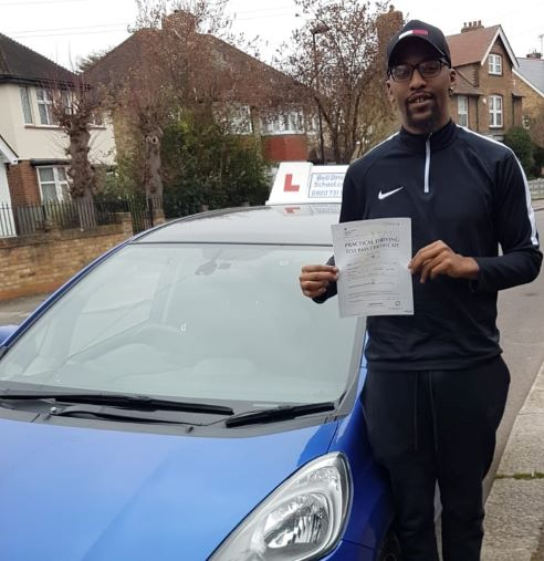 oshea passing his test