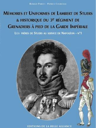 Les frères de Stuers au service de Napoléon N1 - Couverture