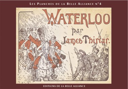 Planches N4: Waterloo par James Thiriar - Couverture