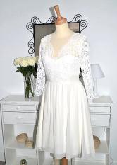 Robe de mariage civil