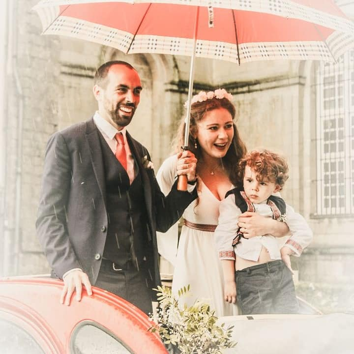 Nos chers mariés