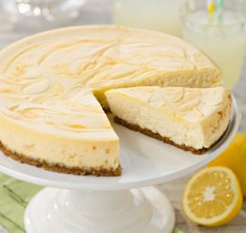 Baked Lemon Cheesecake 2