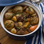 Black Pepper beef & ale casserole