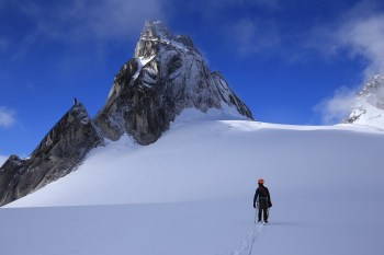 The Bugaboos, Canada– This collection of sky scraping granite spires surrounded by breath taking glaciers the Bugaboos are on the bucket list of thrill seeking mountain climbers the world over. The town of Golden is your gateway to this snowboarding and heli-hiking adventurers' playground.