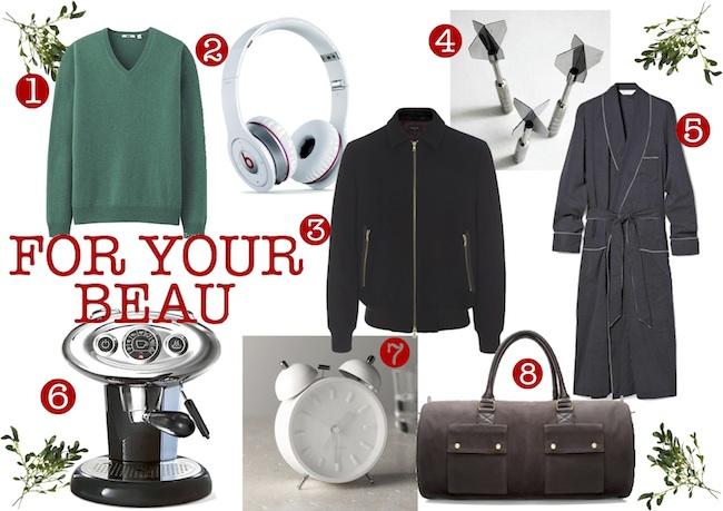 Christmas Gift List Beau