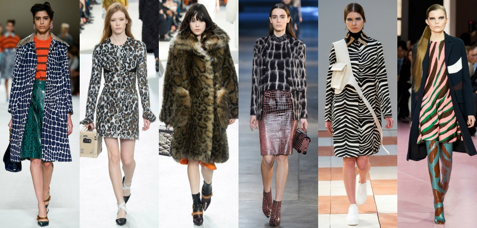 Fashion trend animal prints