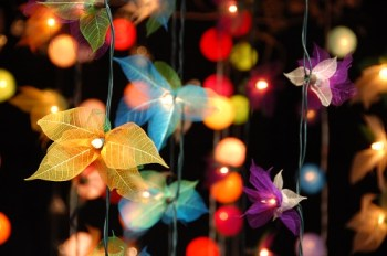 Garden lights are a great way to brighten up a small space, Belle About Town's guide to garden design