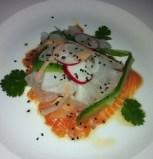 Salmon Sashimi The Hill Bar and Brasserie