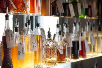 Infused spirits at the Portobello Star