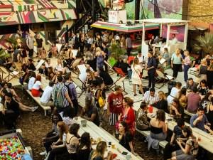 Last Days of Shoreditch Riviera street food market