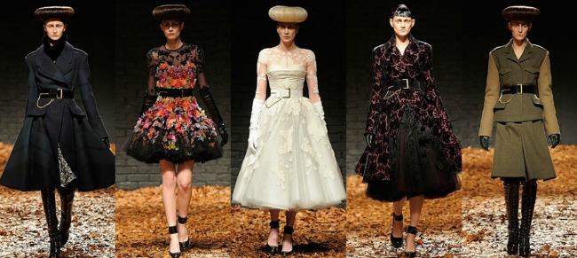 Sarah Burton for McQueen AW 2012