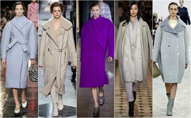 PFW slouchy coats