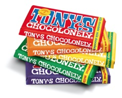 Dutch chocolatiers Tony's Chocolonely have succeeded where many other Fairtrade chocolate makers fail - their product is absolutely delicious.