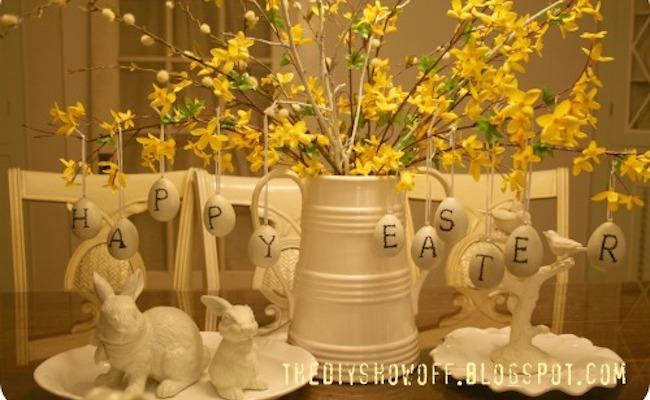 Easter centrepiece