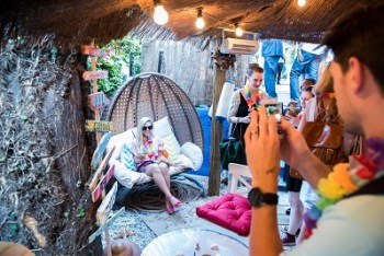 Montague in the Gardens in Mayfair is hosting a beach bar pop up this summer