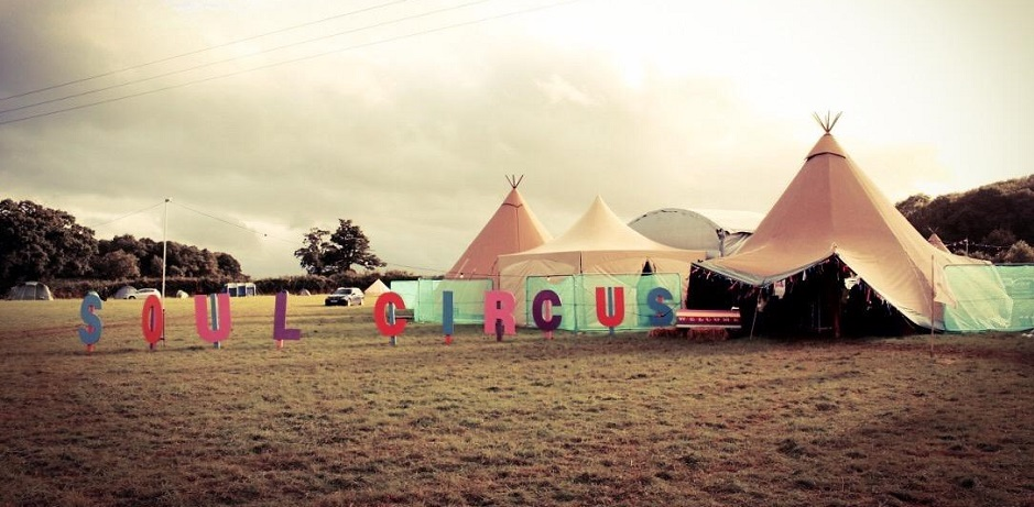 Soul Circus festival in the Cotswolds offers a retreat for yoga and health conscious people eager to escape the stresses of everyday life