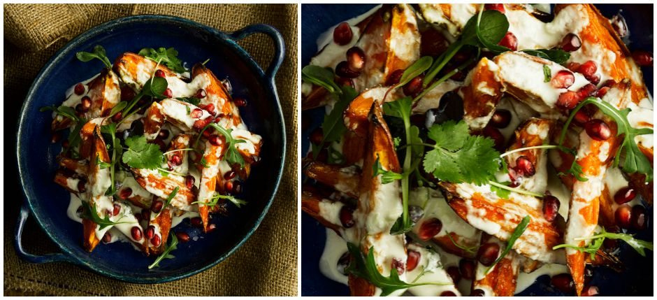 sweet potato with labneh MAIN