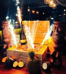p this summerThe Treasure chest cocktail at Barsmith in Farringdon which is hosting a Tiki popu