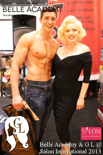 marilyn monroe look alike at salon international