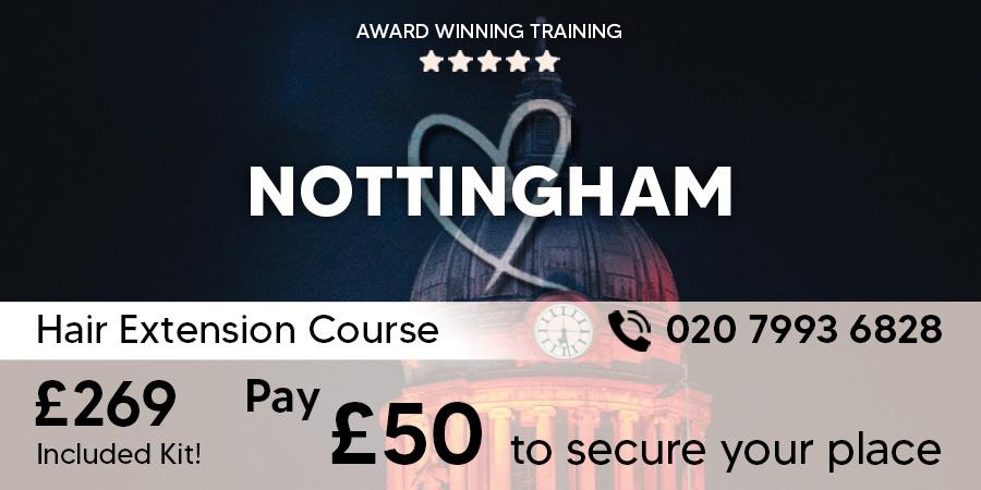 Nottingham Hair Extension Course
