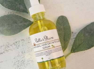 Mega Natural Hair Growth & Repair Serum