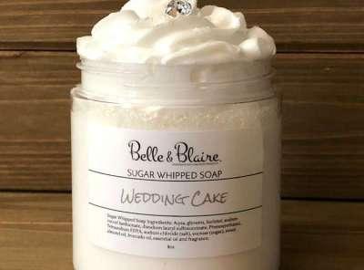 Wedding Cake Sugar Whipped Soap