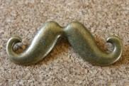 Moustache, 43x18mm, Emballage de 3, 2.90$
