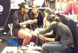 atelier tricot - salon DIY Paris
