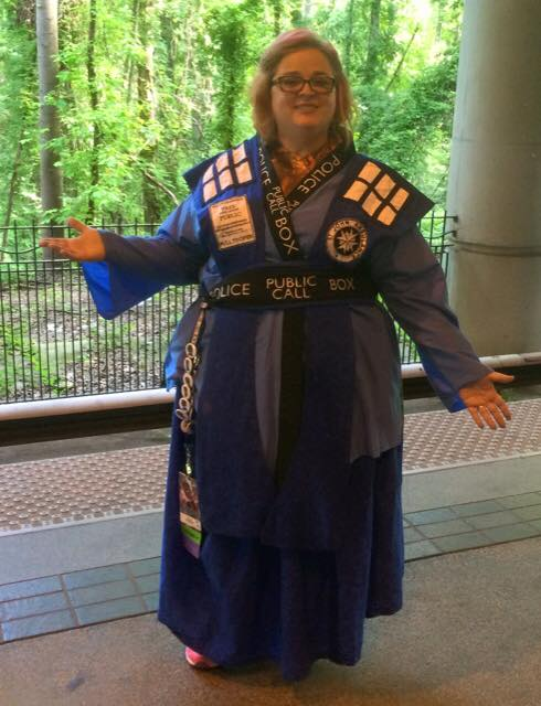 Tardis Kimono- first sewing project
