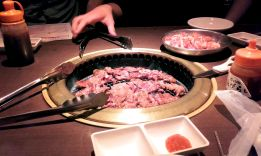 Tabehodai with yakiniku. Pay a certain amount and eat as much as you want for two hours. IT'S PARADISE
