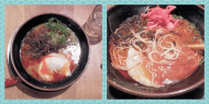 Ichiryu ramen in shibuya. The first time that I ordered karai-ramen and the dish was actually spicy!