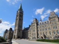 Canada's House of Parliament in Ottawa. Magnificent structure.