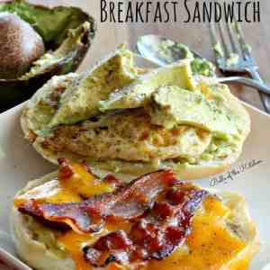 Belle of the Kitchen | Bacon, Egg, and Avocado Breakfast Sandwich