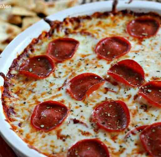Pepperoni Pizza Dip