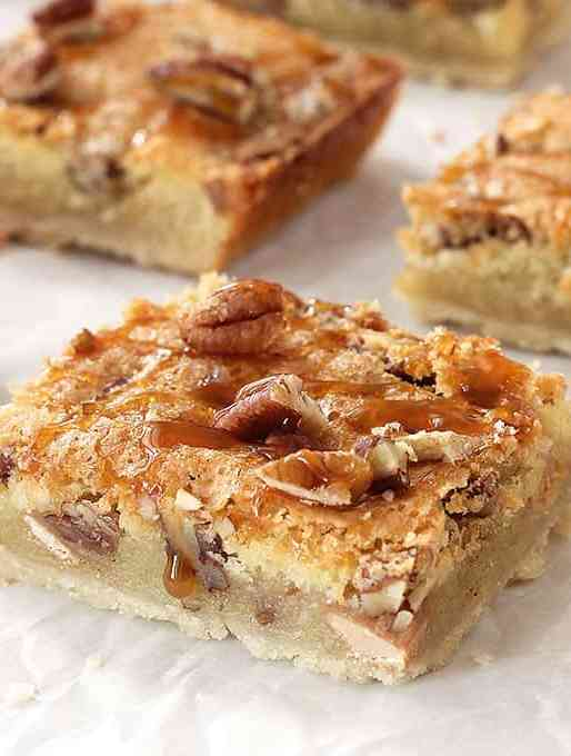 Caramel Pecan Slab Pie Recipe