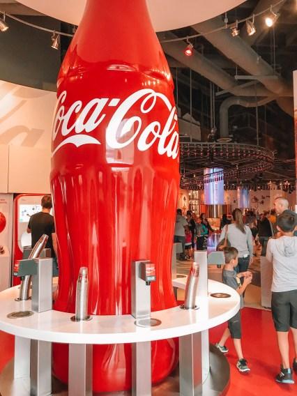 World of Coke flavors