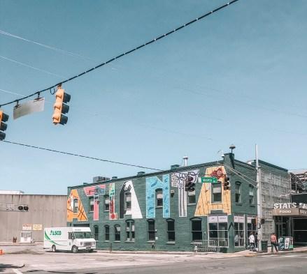 Atlanta street art downtown