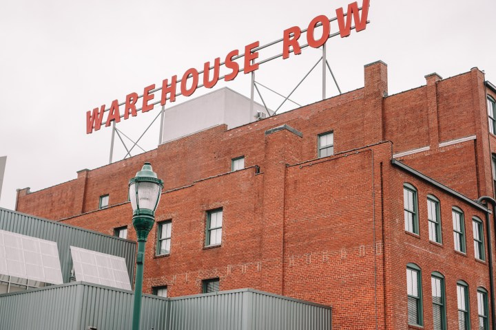warehouse row Chattanooga, tennessee