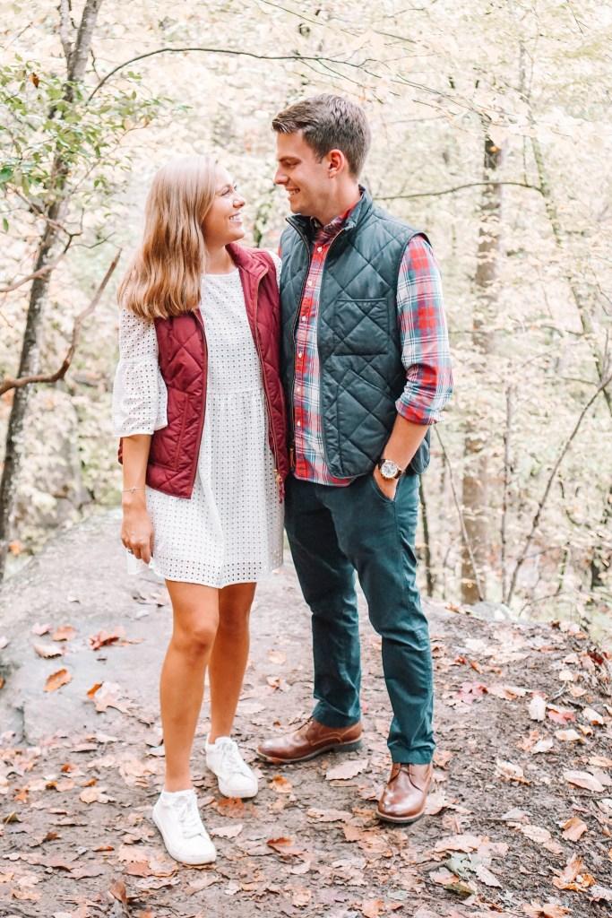 romantic fall weekend getaway Chattanooga, tennessee