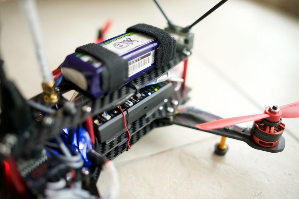 Pixhawk in QAV250 clone