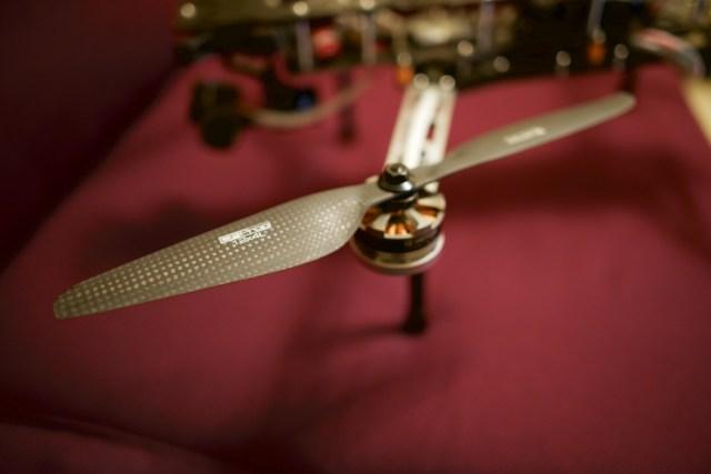 T-Motor carbon fiber props 1240 on QAV500