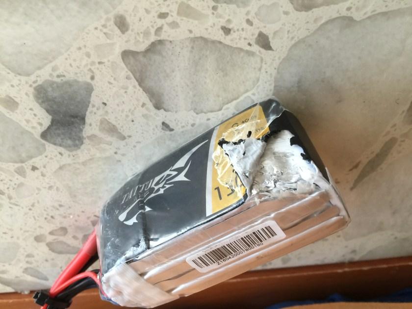 battery crash