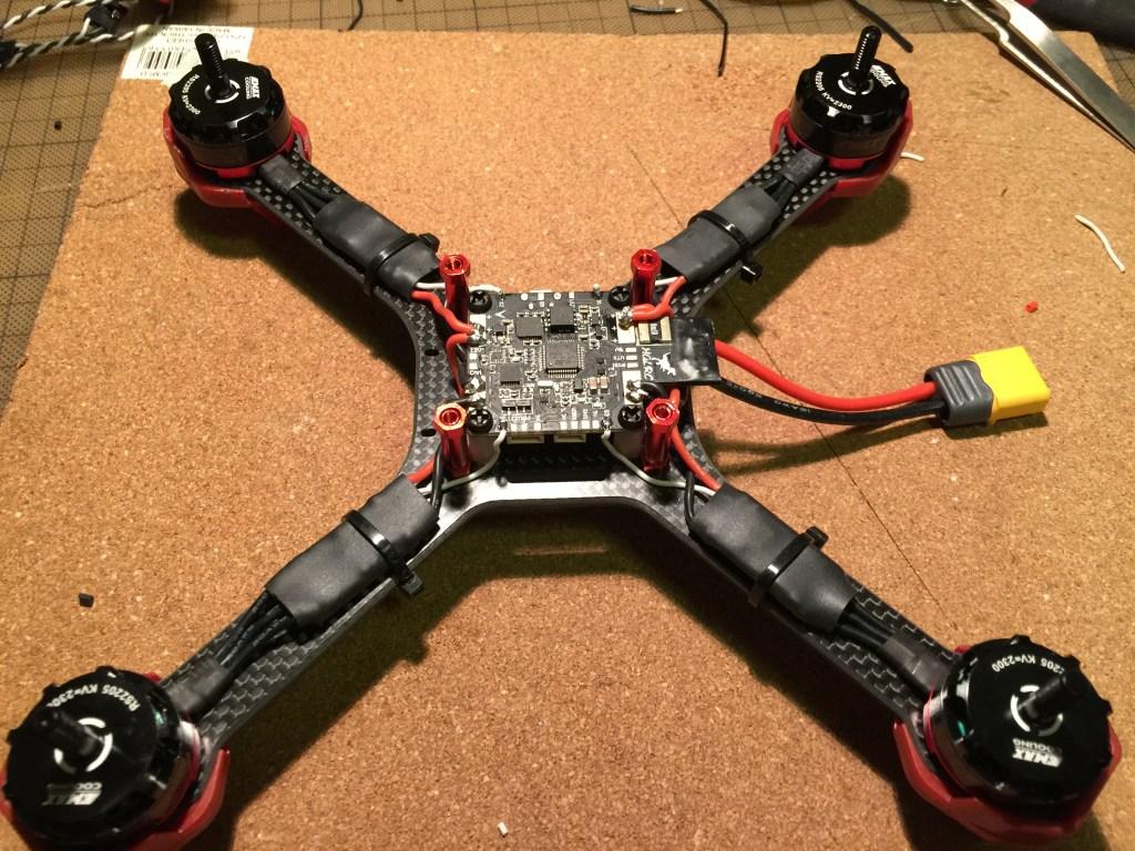 DALRC XR220 + HGLRC F3
