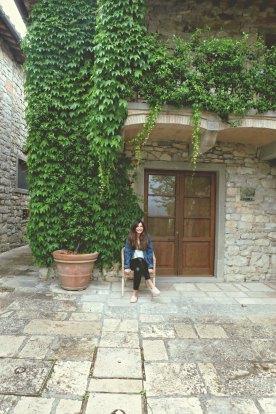 Next to our villa