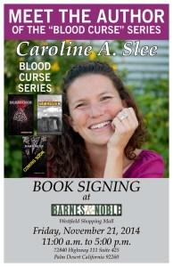 Slee Caroline B&N Book Signing Nov 21 2014