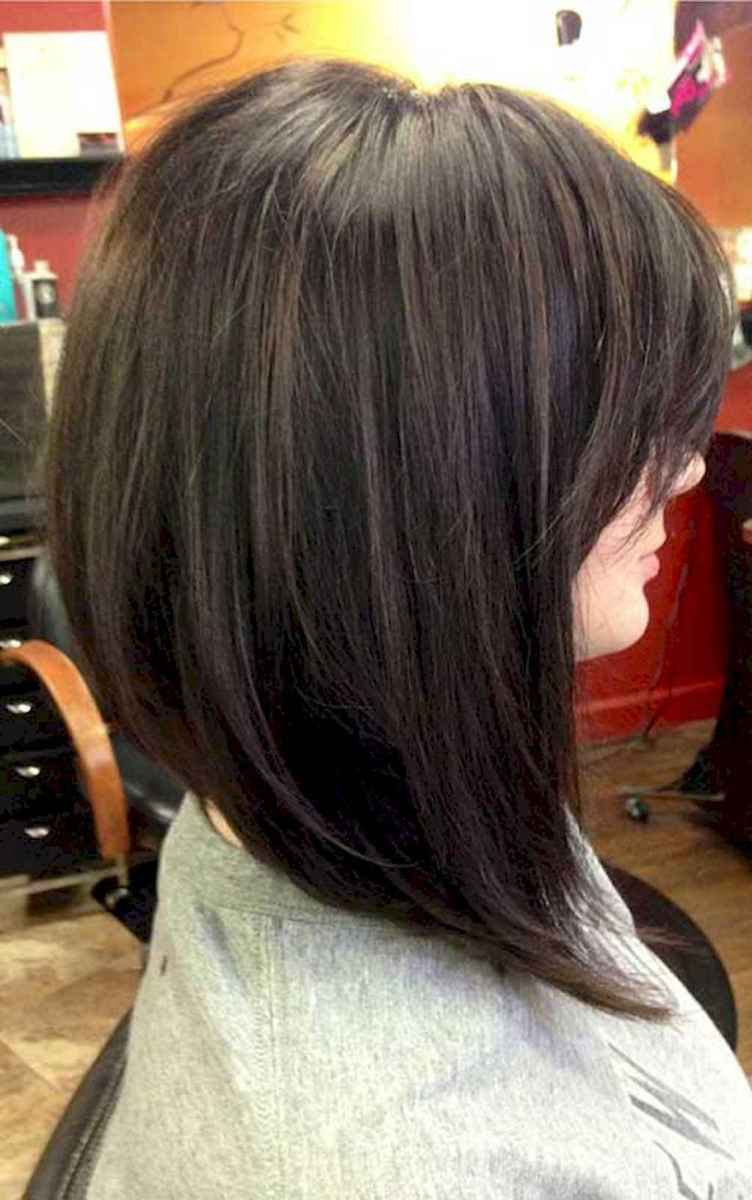 04 Stylish Lob Hairstyle For Fall and Winter