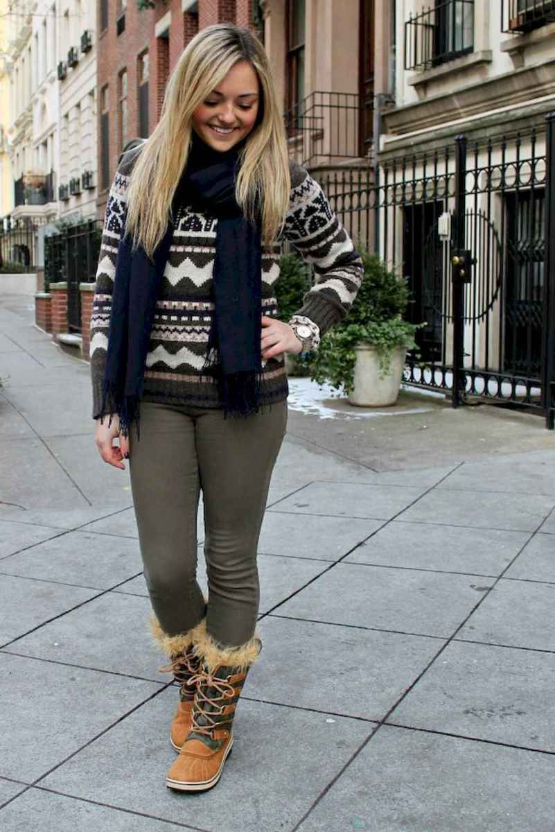 05 Adorable Winter Outfit Ideas with Boots