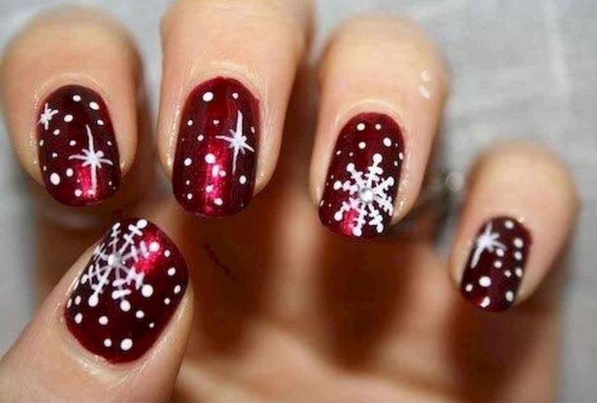 07 Easy Winter Nail Art Ideas