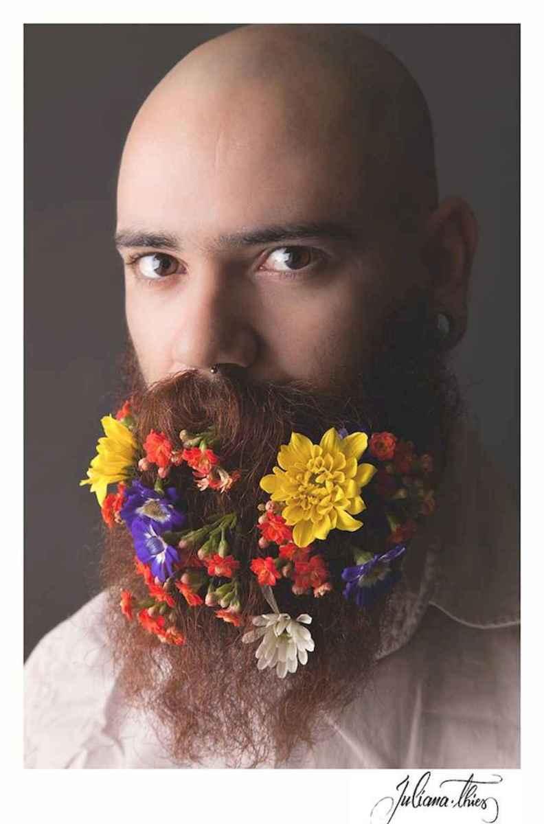 07 Most Elaborate Flower Beard Ideas